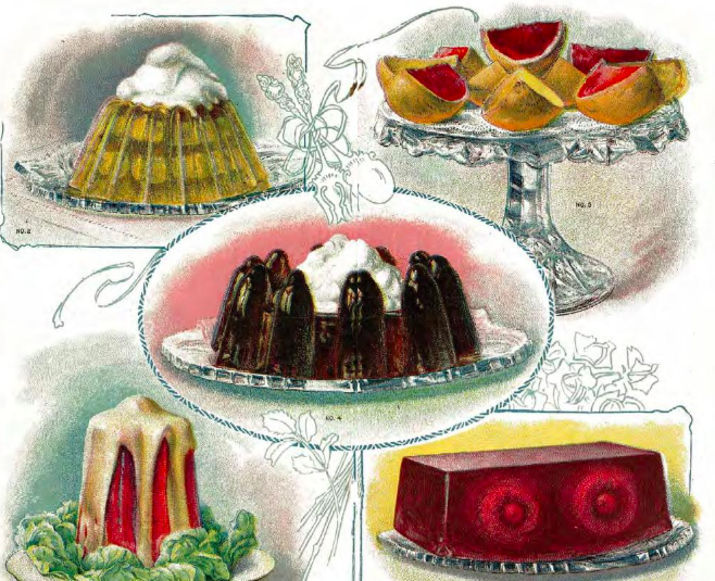 Early Jell-O recipes, 1905